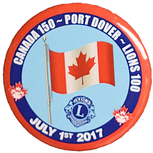 Canada Day Button