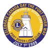 Port Dover Lions Canada Day Button