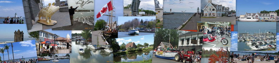Images of Port Dover Collage