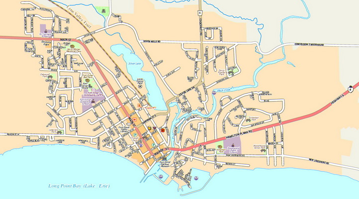 Port Dover 2012 Map
