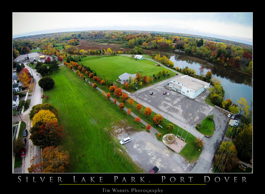 Silver Lake arial view