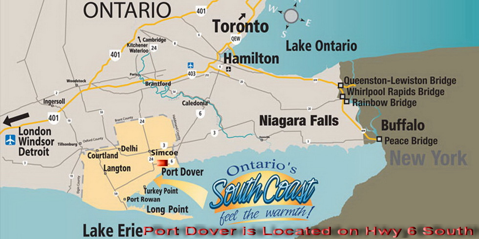 Where is Port Dover