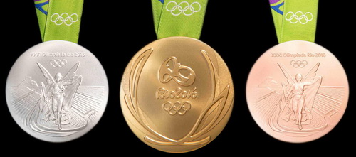 2016 Olympic medals