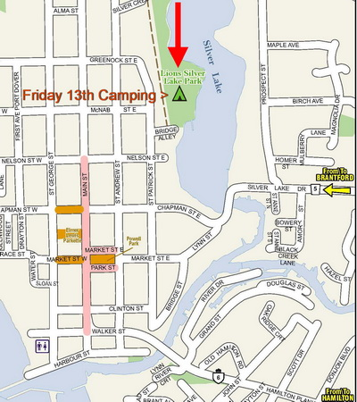 Friday 13th Road Closures Camping